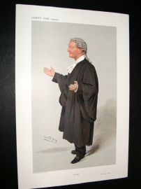 Vanity Fair Print 1908 George Elliot, Legal
